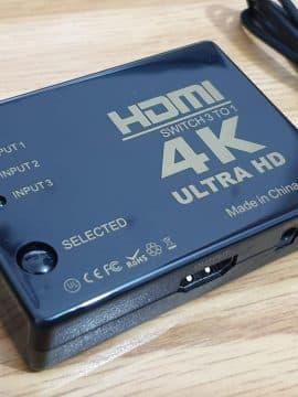 מפצל HDMI עם 3 יציאות – מבצע פייסבוק